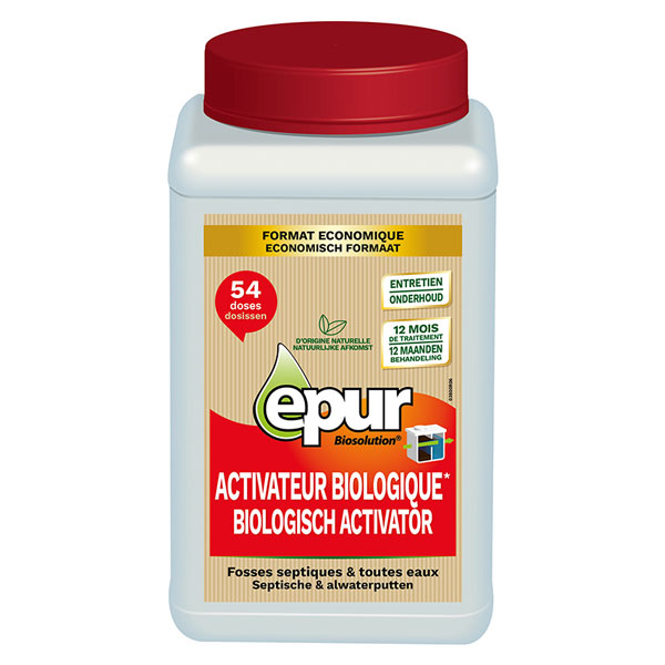 12 month septic tank activator biological*